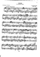 Shostakovich - Romance from The Gadfly - Free Downloadable Sheet Music