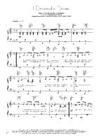 Les Miserables - I Dreamed A Dream - Free Downloadable Sheet